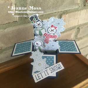 Snow Place Box Card